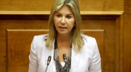 Ζέττα Μακρή: Στη Βουλή, η  ασφαλής λειτουργία των ειδικών σχολείων