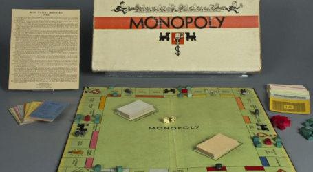 Σαν σήμερα 5 Νοεμβρίου οι αδελφοί Πάρκερ κυκλοφορούν στην αγορά το επιτραπέζιο παιχνίδι Monopoly