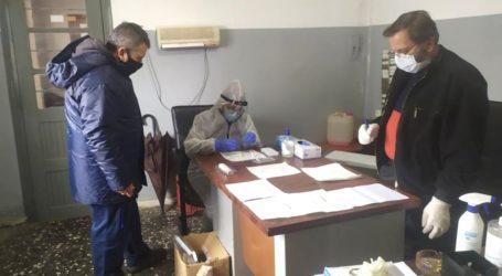 Αρνητικά όλα τα rapid tests covid-19 στο προσωπικό του Δήμου Ζαγοράς – Μουρεσίου