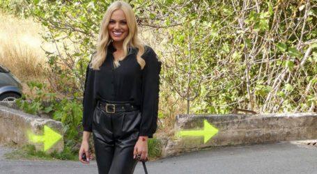 Leather trend: Φορέστε το δερμάτινο παντελόνι όπως η Ιωάννα Μαλέσκου