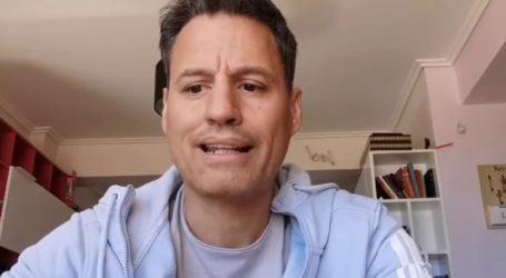 Οι πρώτες δηλώσεις του Γρηγόρη Πετράκου μετά το βίντεο για τον κορωνοϊό και την εισαγγελική παρέμβαση