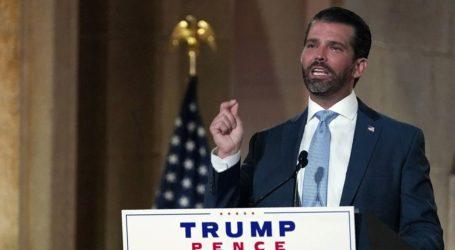 Θετικός στον κορωνοϊό ο γιος του Donald Trump