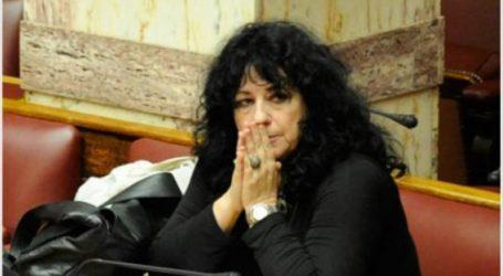 Συλλυπητήριο μήνυμα της Άννας Βαγενά για τον θάνατο της Δήμητρας Δημητροπούλου