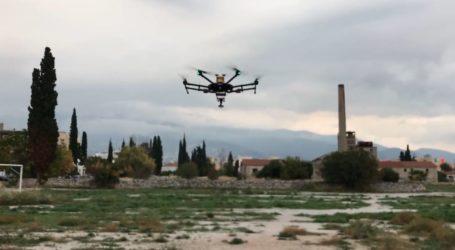 Και drone θα καταγράφει την ατμοσφαιρική ρύπανση στον Βόλο – Η πρώτη πτήση [βίντεο]