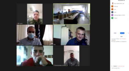 Δήμος Ελασσόνας: Συνεδρίασε με τηλεδιάσκεψη το Συντονιστικό Όργανο Πολιτικής Προστασίας