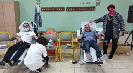 """Περάτωση της """"2ης Εθελοντικής Αιμοδοσίας"""" στην ΕΜΛ Φιλιππούπολης"""