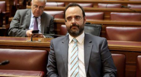 Κων. Μαραβέγιας προς τον Πρόεδρο της Βουλής:  «Έχω ήδη τεθεί στη διάθεση του ΕΣΥ»