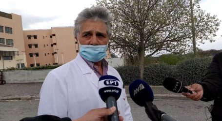 «Δεχόμαστε πολύ μεγάλη πίεση» λέει στο onlarissa.gr ο Διευθυντής της ΜΕΘ – Covid του Πανεπιστημιακού Νοσοκομείου Νώντας Ζακυνθινός