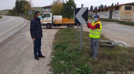 Νέα στηθαία και πινακίδες σήμανσηςτοποθετεί η Περιφέρεια Θεσσαλίας στο οδικό δίκτυο ευθύνης της