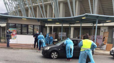 Βόλος: 44 θετικά κρούσματα στα 353 rapid tests που έγιναν στο Πανθεσσαλικό