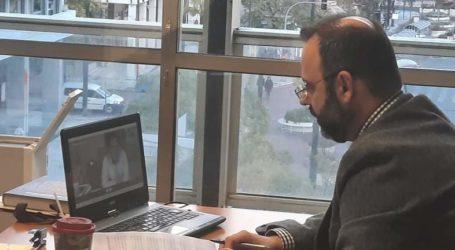 Τηλεδιάσκεψη του Κων. Μαραβέγια με τον Άδωνι Γεωργιάδη για τα αιτήματα των εμπόρων