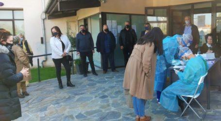 Τεστ ιχνηλάτησης του κορωνοϊού έγινε σε όλους τους εργαζόμενους στο δημαρχείο Κιλελέρ