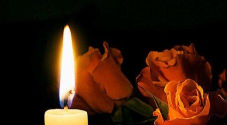 Συλλυπητήρια από τη Δευτεροβάθμια Εκπαίδευση Λάρισας για το χαμό του Π. Καραπιπέρη