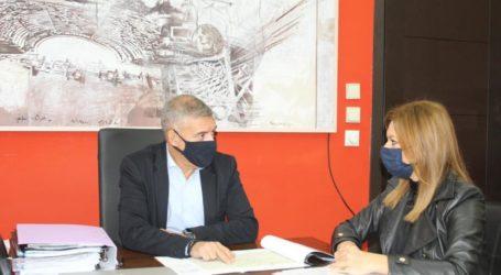 Συνάντηση Μπίζιου – Αγοραστού για όλα τα κρίσιμα ζητήματα του νομού Λάρισας