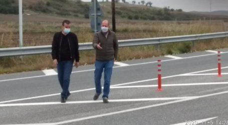 Σε εξέλιξη εργασίες οδικής ασφάλειας 1,2 εκατ. ευρώαπό την Περιφέρεια Θεσσαλίας στην Π.Ε. Λάρισας