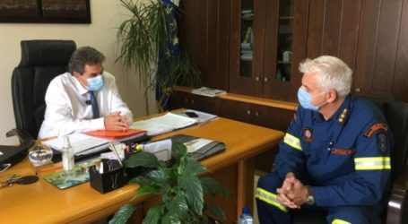 Θερμές ευχαριστίες από τον δήμαρχο Φαρσάλων στον διοικητή της 8ης ΕΜΑΚ για τη σωτήρια συμβολή της στην πρόσφατη θεομηνία