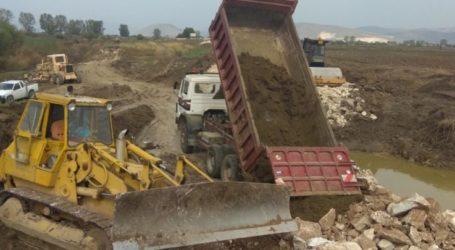 Ξεκινούν από την Περιφέρεια Θεσσαλίας τα έργα αποκατάστασης στην κοίτη του Ενιπέα ποταμού μετά τις καταστροφές του Ιανού
