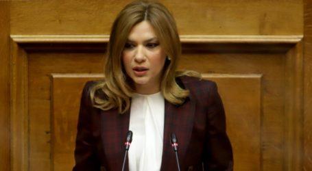 Στέλλα Μπίζιου: Προτεραιότητα για την κυβέρνηση της ΝΔ η στήριξη των αδυνάμων