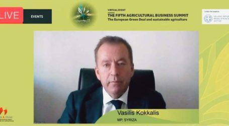 Κόκκαλης στο συνέδριο του Economist: Οι νέες προκλήσεις για τους αγρότες από την «πράσινη συμφωνία» και τη νέα ΚΑΠ