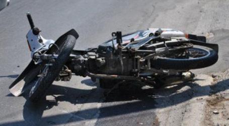 Τροχαίο ατύχημα στον Βόλο – ΙΧ συγκρούστηκε με μηχανάκι