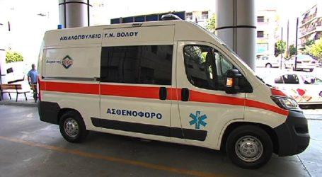 Περιπέτεια σε διακομιδή παιδιού από τον Βόλο στην Αθήνα – Έμεινε από βλάβη το ασθενοφόρο