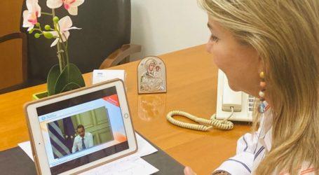 Η Ζέττα Μακρή σε διαδικτυακή εκδήλωση για την βία κατά των γυναικών, παρουσία του Πρωθυπουργού