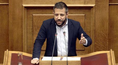 Στη Βουλή οι ελλείψεις του Περιφερειακού Ιατρείου Αλοννήσου από τον Αλ. Μεϊκόπουλο