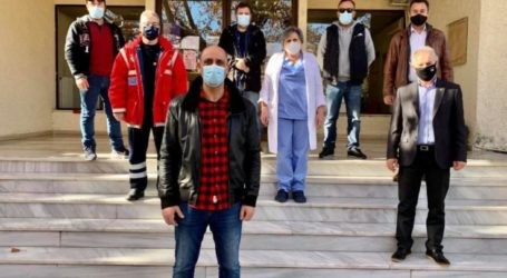 Δήμος Τεμπών: Συνάντηση Μανώλη με Σταμνά και Γούλα για τη λειτουργία του ΕΚΑΒ