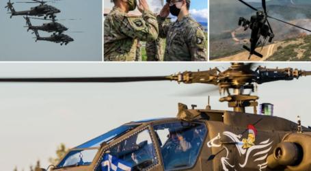 Στεφανοβίκειο: Apache και Black Hawk για συνεκπαίδευση με τις Ένοπλες Δυνάμεις