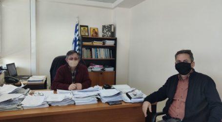 Γεωπονικός Σύλλογος Ν. Λάρισας: Επίσκεψη στον ΕΛΓΑ – Συνάντηση με τους Γεωπόνους και τον Διευθυντή Μ. Λιόντο