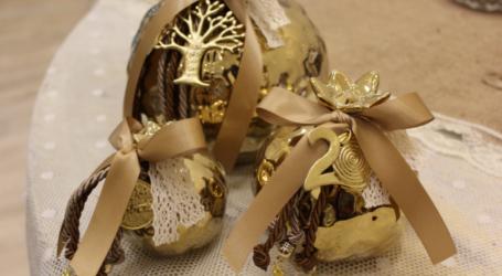 Βρείτε υπέροχα χειροποίητα χριστουγεννιάτικα γούρια στο Bridal Garden