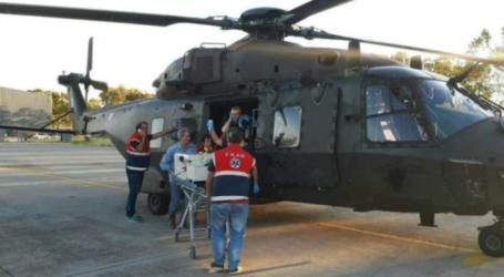 Βόλος: Αεροδιακομίδη με Σούπερ Πούμα ασθενή με κορωνοϊο από την Αλόννησο