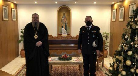 Τον Ιερώνυμο Λαρίσης επισκέφτηκε ο Ταξίαρχος κ. Aστέριος Μαντζιώκας