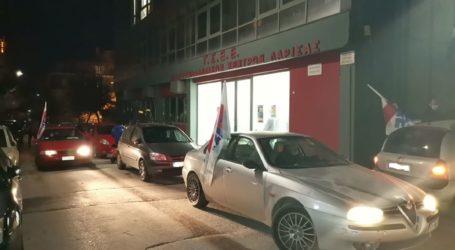 Συμβολική διαμαρτυρία με μηχανοκίνητη πορεία πραγματοποίησε το ΕΚΛ για την ψήφιση του προϋπολογισμού στην βουλή (φωτο – βίντεο)