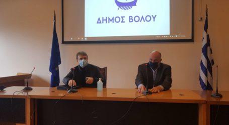 Μιχάλης Χρυσοχοΐδης από τον Βόλο: Στη Μαγνησία η αποκλιμάκωση των κρουσμάτων δεν είναι η αναμενόμενη [εικόνες]