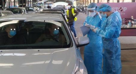 """Καλά τα νέα από το πρωινό """"rapid testing"""" στη Νεάπολη: Θετικά μόνο 6 στα 307 δείγματα"""