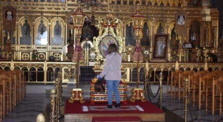 Τρεις Θείες Λειτουργίες την ημέρα των Χριστουγέννων στον Άγιο Νικόλαο στη Λάρισα