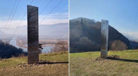 Μυστηριώδης μονόλιθος εμφανίστηκε και στη βαλκανική χώρα