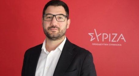 Ν. Ηλιόπουλος: «Εγκληματική ανευθυνότητα της κυβέρνησης