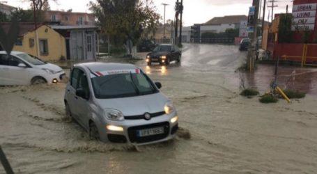 Ζάκυνθος: Προβλήματα και καταστροφές από την ξαφνική καταιγίδα
