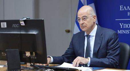 Στην Κύπρο ο Ν. Δένδιας ενόψει του επικείμενου Συμβουλίου Εξωτερικών Υποθέσεων
