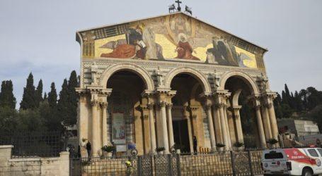 Συνελήφθη άνδρας που επιχείρησε να πυρπολήσει την εκκλησία της Γεθσημανής