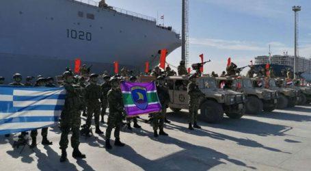 Παρουσία των υπουργών Άμυνας Ελλάδας και Αιγύπτου, η τελική φάση της άσκησης «Μέδουσα 10»