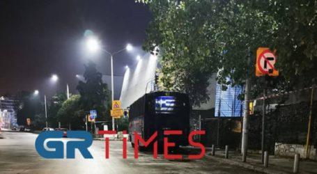 Ισχυρές αστυνομικές δυνάμεις φρουρούν το ΑΠΘ ενόψει της επετείου της δολοφονίας Γρηγορόπουλου