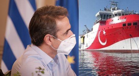 Μητσοτάκης: Δεν φθάσαμε κοντά σε πόλεμο με την Τουρκία