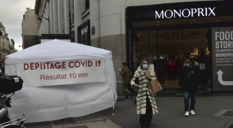 Αύξηση των νέων κρουσμάτων κορωνοϊού στη Γαλλία