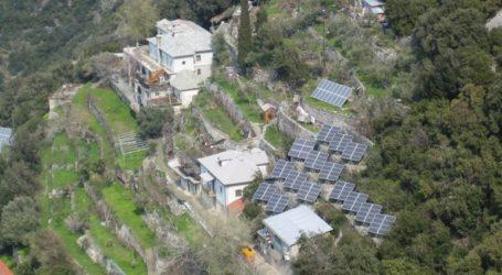 Με φωτοβολταϊκά θα καλύπτονται οι ενεργειακές ανάγκες των Ιερών Μονών του Αγίου 'Ορους