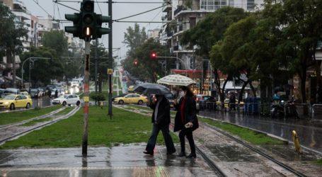 Μεγάλα ύψη βροχής στην Αττική