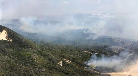 Υπό έλεγχο τέθηκε η γιγάντια πυρκαγιά στη νήσο Φρέιζερ