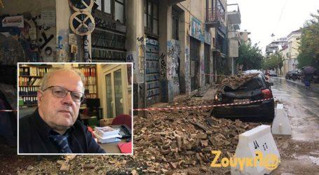Η «πρόβλεψη» του Άκη Τσελέντη για την κατάρρευση του κτηρίου στο Μεταξουργείο